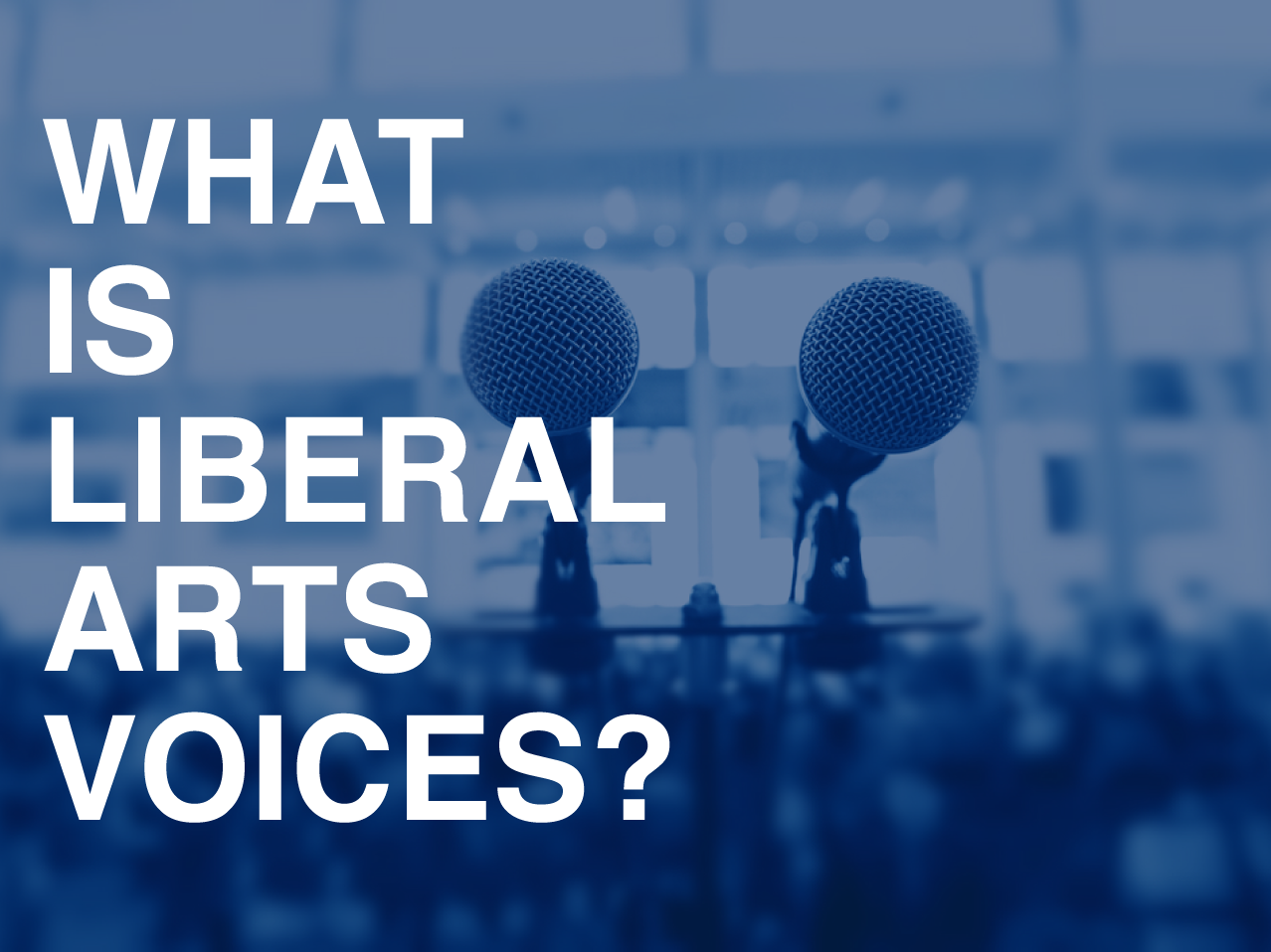 What is Liberal Arts Voices