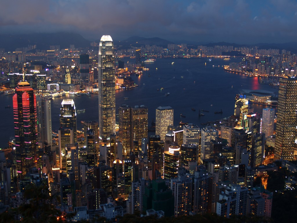 Hongkong_Evening_Skyline