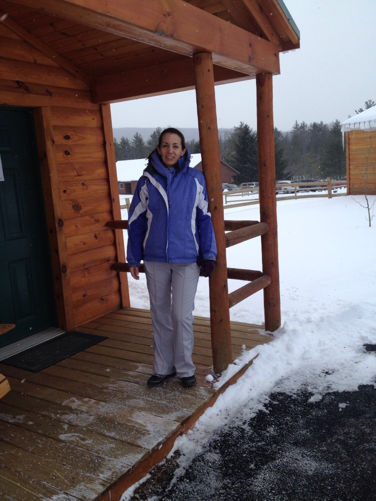 Lodging while attending a scrapbooking weekend retreat with my mom in Feb., 2014.