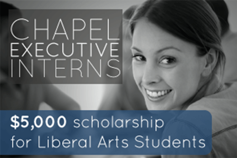 Chapel Executive Internship Program – Job Postings 4.11.16