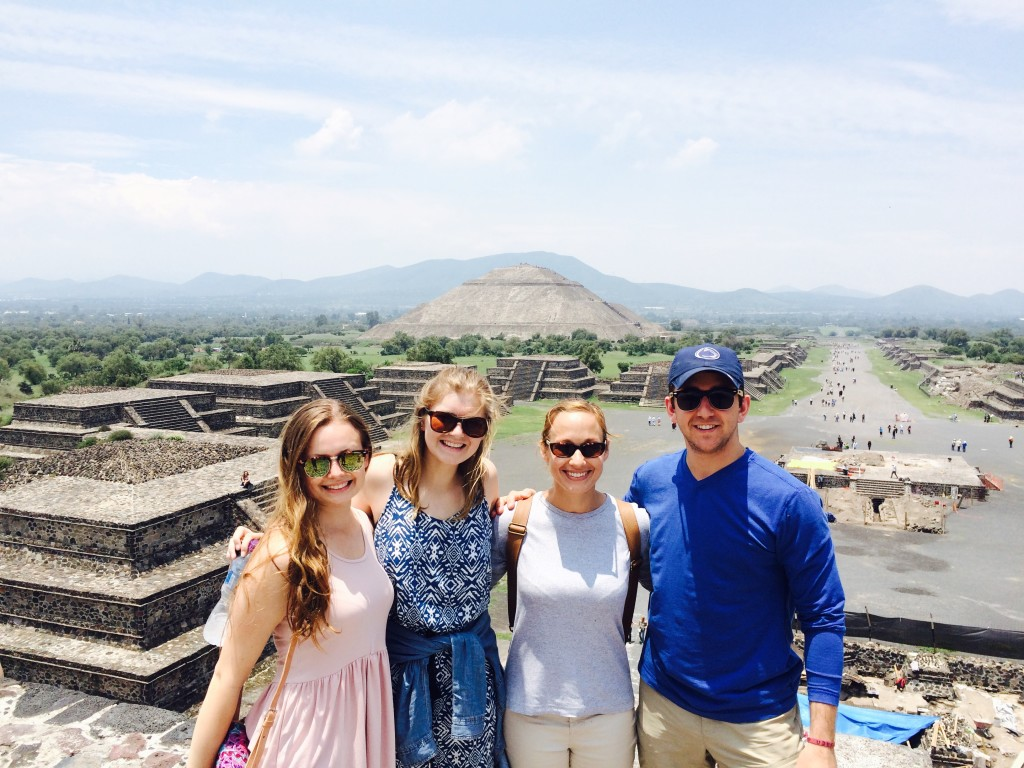 David Goodwin, Puebla-Mexico Summer 2015, Pyramid of the Moon in Teotihuacan, Mexico just outside Mexico City