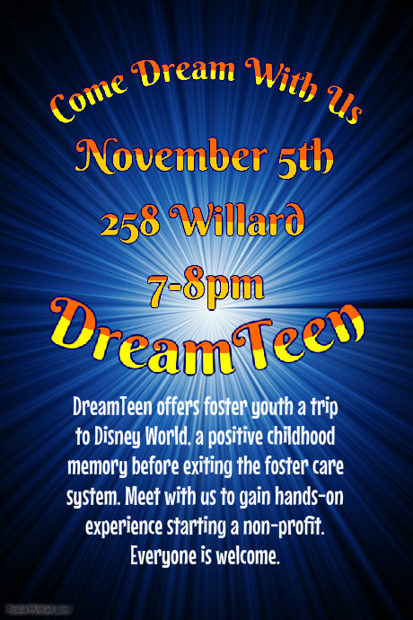 Come join an exciting new club at Penn State: DreamTeen!