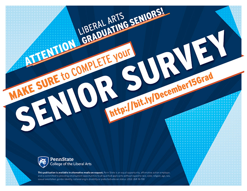 Fall Semester Grads – Tell Us What You Think!