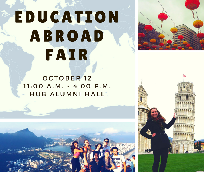 Education Abroad Fair: October 12