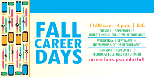 Fall Career Days is this Week!
