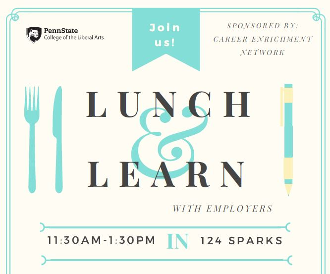 Lunch & Learn with Employers Event: Vanguard, October 3
