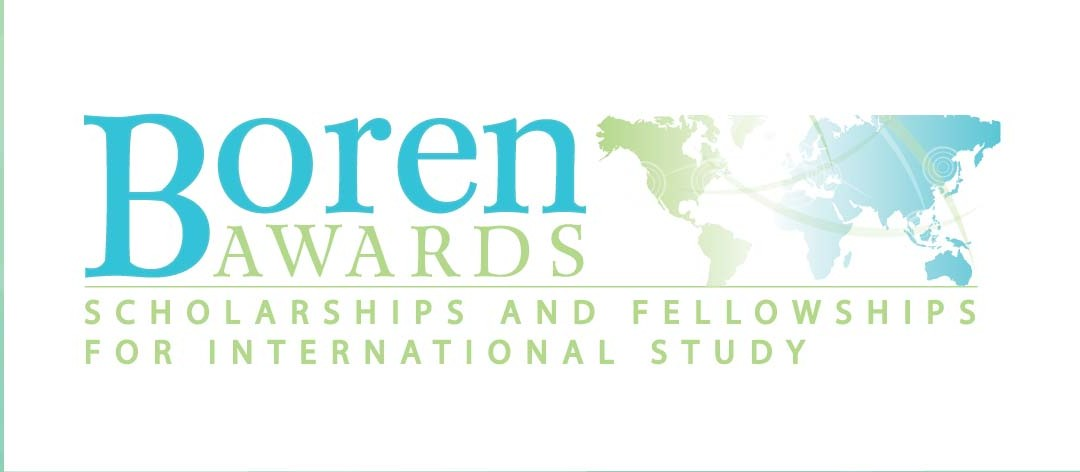 Boren Awards: Funding for Language Study & Research Abroad