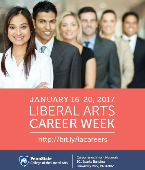 Liberal Arts Career Week Sneak Peek!
