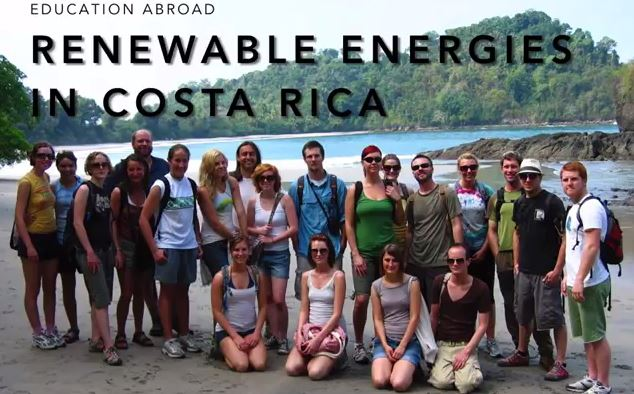 Renewable Energies in Costa Rica Study Abroad