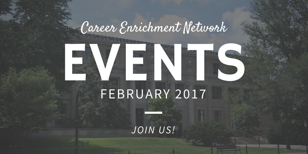February 2017 Events at a Glance