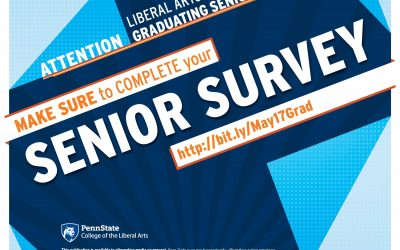 Graduating in May? Complete Your Senior Survey!