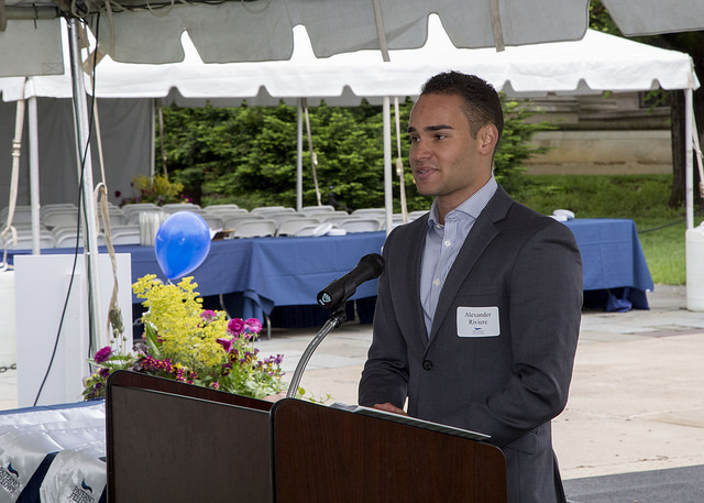 Paterno Fellow Alex Riviere's Remarks upon Graduation