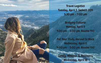 Studying Abroad this Summer? Don't Miss these Pre-Departure Orientations in April