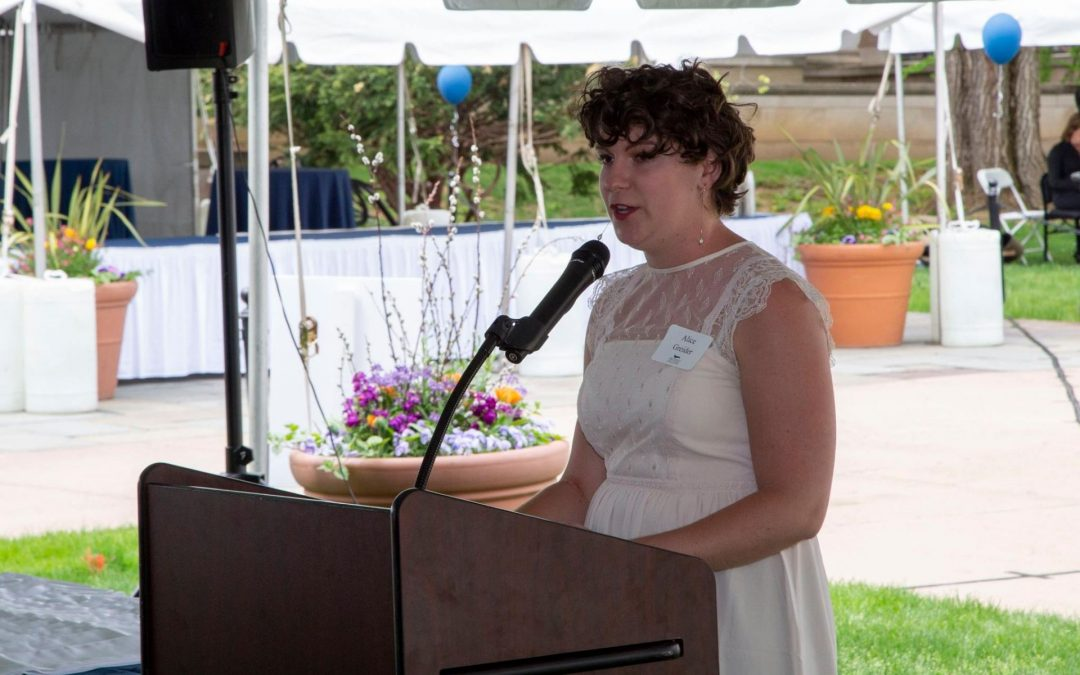 Paterno Fellow Alice Greider's Remarks upon Graduation