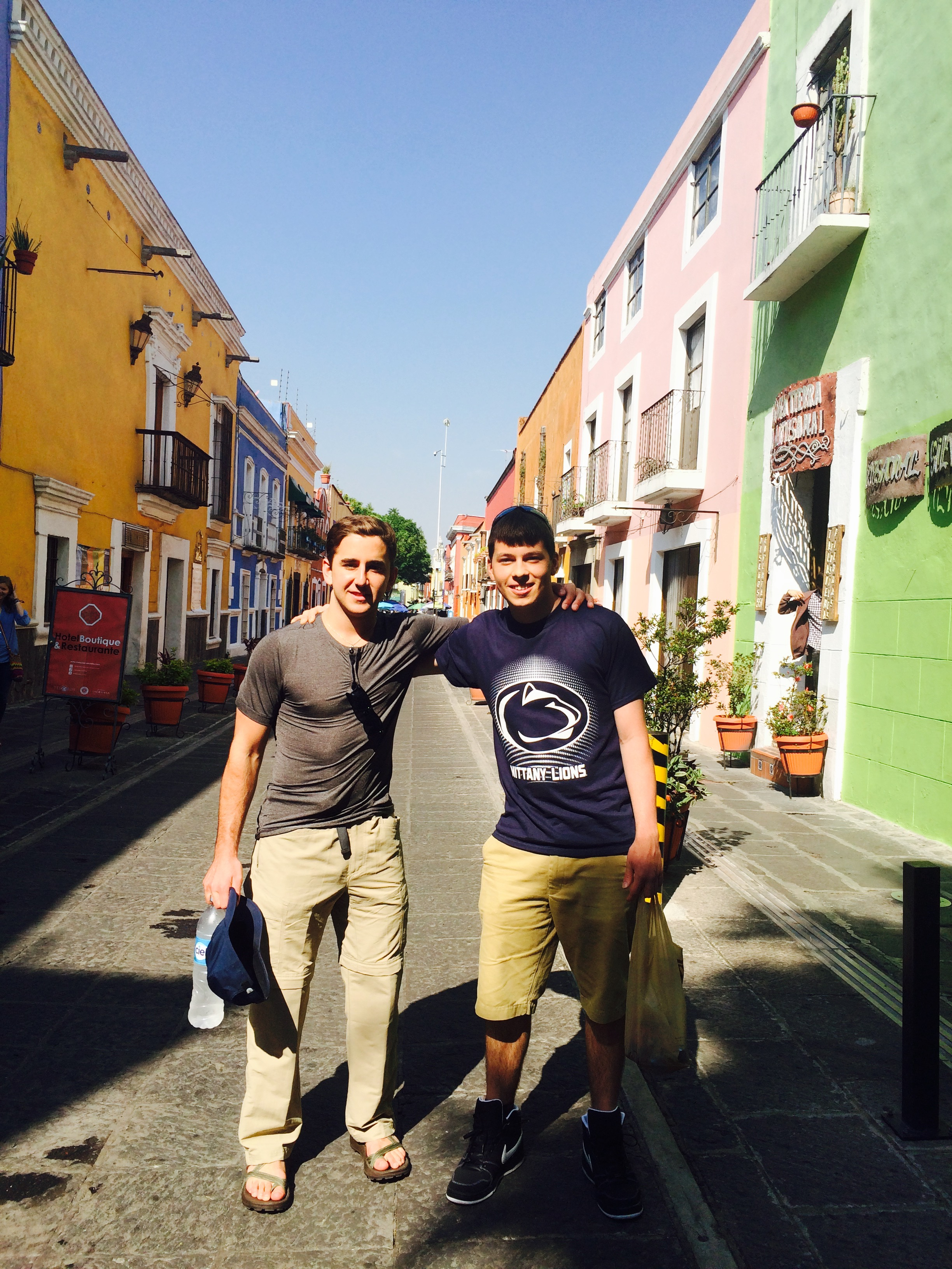 David Goodwin, Puebla-Mexico Summer 2015, Streets of Downtown Puebla