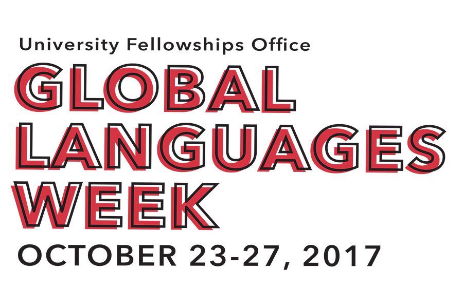 Global Languages & International Education Week: Oct 23-27